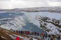 Paisaje del ` s de Islandia en invierno Imagen de archivo