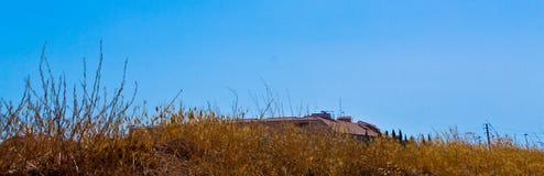 Paisaje del tejado imagenes de archivo