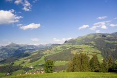 Paisaje del Tirol, Austria Fotografía de archivo libre de regalías