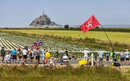 Paisaje del Tour de France Imágenes de archivo libres de regalías