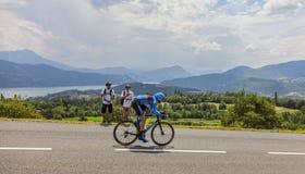 Paisaje del Tour de France Foto de archivo libre de regalías