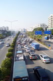 Paisaje del transporte por carretera del estado de Shenzhen 107 Foto de archivo libre de regalías