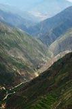 Paisaje del valle Fotos de archivo libres de regalías