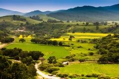 Paisaje del valle Fotografía de archivo