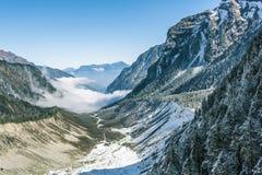 Paisaje del valle Imagen de archivo libre de regalías