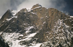 Paisaje del valle blanco - Bucegi Fotografía de archivo libre de regalías