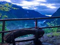Paisaje del valle de Daone Foto de archivo libre de regalías