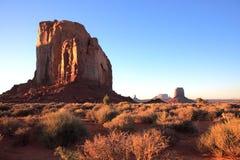Paisaje del valle del monumento Imagen de archivo