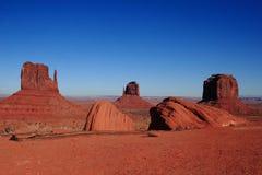 Paisaje del valle del monumento Imagen de archivo libre de regalías