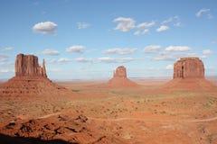 Paisaje del valle del monumento Fotografía de archivo