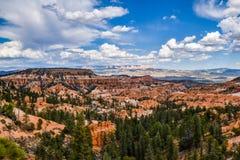 Paisaje del verano de Bryce Canyon foto de archivo libre de regalías