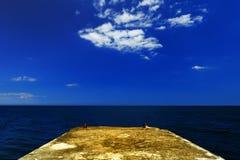 Paisaje del verano del mar Fotografía de archivo