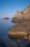 Paisaje del verano del mar Fotos de archivo