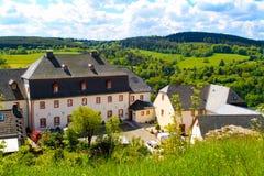 Paisaje del verano, Eifel Fotografía de archivo libre de regalías