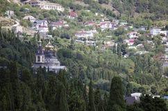 Paisaje del verano en la Crimea fotos de archivo libres de regalías