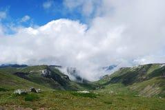 Paisaje del verano en las montañas Fotografía de archivo libre de regalías