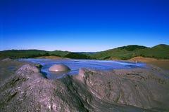Paisaje del volcán Foto de archivo
