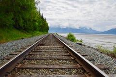 Paisaje en Anchorage, Alaska, Estados Unidos imagen de archivo libre de regalías