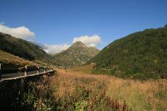 Paisaje en Andorra fotos de archivo libres de regalías