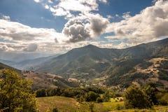 Paisaje en asturias royalty free stock image