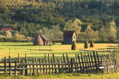 Paisaje en Bucovina, Rumania Fotografía de archivo libre de regalías