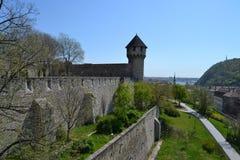 Paisaje en Budapest Fotos de archivo libres de regalías