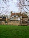Paisaje en Cambridge Inglaterra Imagenes de archivo