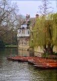 Paisaje en Cambridge Inglaterra Fotos de archivo libres de regalías