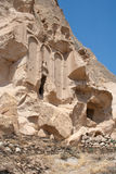 Paisaje en Cappadocia Turquía Foto de archivo