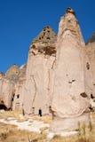 Paisaje en Cappadocia Turquía imagenes de archivo