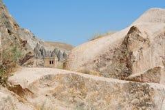 Paisaje en Cappadocia Turquía foto de archivo libre de regalías