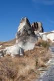 Paisaje en Cappadocia Turquía Imagen de archivo