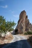 Paisaje en Cappadocia Turquía fotografía de archivo libre de regalías