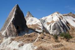 Paisaje en Cappadocia Turquía fotos de archivo libres de regalías