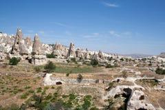 Paisaje en Cappadocia Turquía imagen de archivo libre de regalías