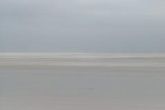 Paisaje en colores pastel del mar Fotografía de archivo
