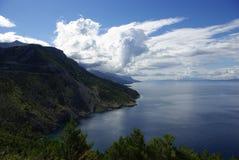 Paisaje en Croatia Imágenes de archivo libres de regalías