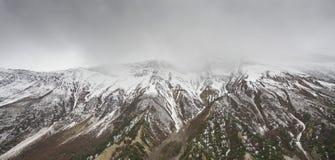 Paisaje en el circuito de Annapurna Fotografía de archivo