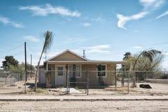 Paisaje en el desierto de Anza-Borrego Foto de archivo libre de regalías