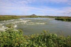 paisaje en el norte de Islandia Fotografía de archivo