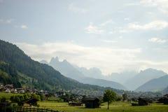 Paisaje en el norte de Italia Fotografía de archivo