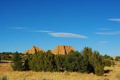 Paisaje en el valle de la catedral, Utah Foto de archivo
