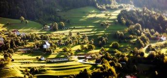 Paisaje en Eslovenia Imágenes de archivo libres de regalías
