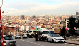 Paisaje en Estambul Foto de archivo libre de regalías