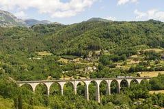 Paisaje en Garfagnana (Toscana) fotografía de archivo libre de regalías