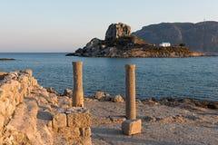 Paisaje en Grecia Imagen de archivo libre de regalías