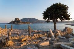 Paisaje en Grecia Imagen de archivo