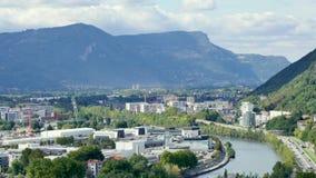Paisaje en Grenoble metrajes