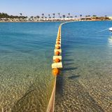 Paisaje en Hurghada Fotos de archivo libres de regalías