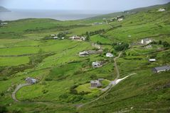 Paisaje en Irlanda Fotos de archivo libres de regalías